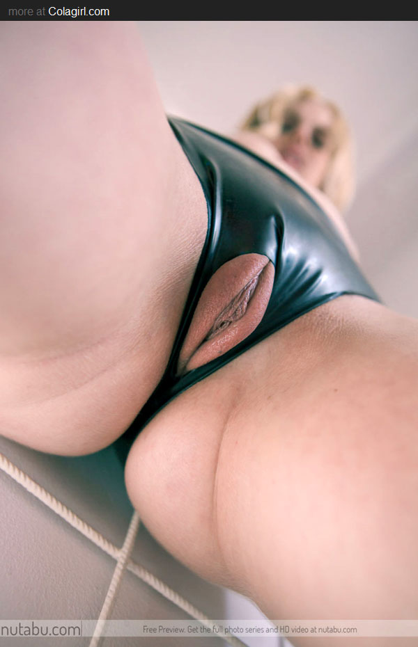 latex pantie with toys